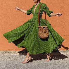 Women's Classy V Neck Bishop Sleeve Maxi Dress – Gorahouse Elegant Dresses, Casual Dresses, Dresses For Work, Dresses With Sleeves, Summer Dresses, Sexy Dresses, Formal Dresses, Wedding Dresses, Long Dresses