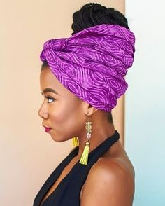 Tanesha from The Wrap Life Hair Wrap Scarf, Head Scarf Styles, Afro Textured Hair, Brown Girl, Scarf Hairstyles, Head Wraps, Makeup Looks, Natural Hair Styles, Scarves