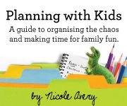 Great blog about organising the family