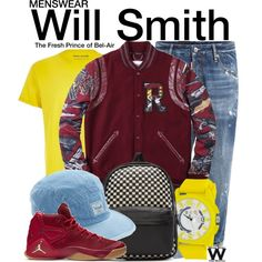 Inspired by Will Smith as Will Smith on The Fresh Prince of Bel-Air.