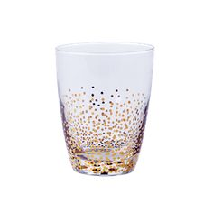 Gold dot glas RICE 99 kr