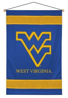 West Virginia Mountaineers NCAA College Bedding Wall Hanging by Sportscoverage, http://www.amazon.com/dp/B0041P2T1I/ref=cm_sw_r_pi_dp_Pf2vqb1B83KQ7