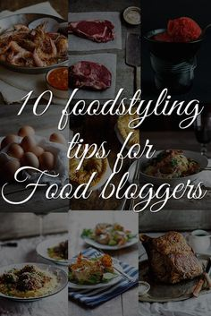 Food styling tips fo
