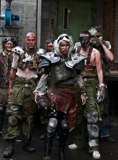 Picture from CoC a post apocalytisk larp in denmark.