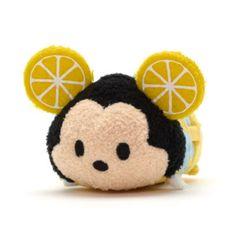 Picnic basket Mickey (dressed as a lemon) Tsum Tsum Sets, Disney Tsum Tsum, Disney Plush, Disney Toys, Disney Mickey, Disney Pixar, Ty Plush, Tsum Tsums, Princess Room