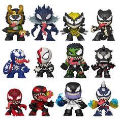 Funko Mystery Minis, Vinyl Figures, Action Figures, Marvel Venom, Venom Avengers, Mini Blinds, Captain Marvel, Pop Marvel, Marvel Heroes