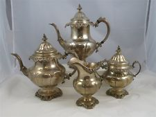 Grande Baroque-Wallace Sterling Silver Tea Set