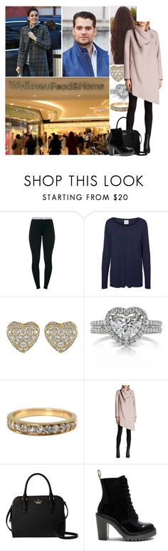 """""""Getting last minute things for the babies"""" by alicegrosvenor ❤ liked on Polyvore featuring Mama.licious, Cartier, Mark Broumand, AllSaints, Kate Spade and Dr. Martens"""