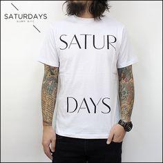 SATURDAYSSURFNYCTシャツ