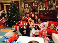 "Photos: Trinitee Stokes Enjoying The Holidays On Set With Her ""K.C. Undercover"" Cast December 20, 2014"