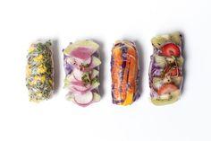 fruit and veggie wraps