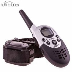 Dog Trainer 1000M Waterproof Rechargeable LCD Remote Pet Dog Training Collar Electric Shock Large Dog Control