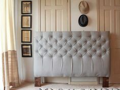 How To Make A Diamond Tufted Headboard Headboards Bedrooms And