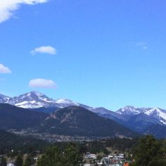 """4/29/2012 Estes Park CO """" I can't wait to go here in a couple of months!"""""""