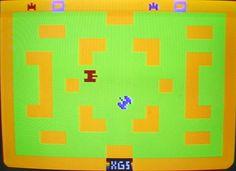 Combat on the 2600 Atari