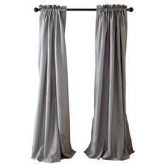 An elegant finishing touch for any room, this lined faux silk curtain features a rod pocket top.   Product: CurtainC...