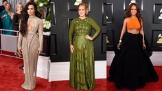 The workouts, diets, trainers and beauty secrets that got last night's Grammy stars looking hotter-than-ever Last night was the 59th year of the annual Grammy awards. From Adele getting choked up after collecting a bucketful of awards to some brilliant performances from