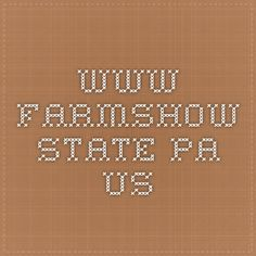 www.farmshow.state.pa.us