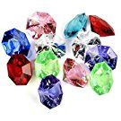 Acrylic Diamond Gems Jewels Pirate Treasure Chest Hunt Party Favors(36 PCS)