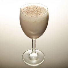 The Dead Rabbit Coffee Cocktail     1 oz Brady's Irish Cream Liqueur     1 oz Graham's Late Bottled Vintage Port     1 oz Clontarf Irish Whiskey     .5 oz Simple syrup (one part sugar, one part water)     1 Egg     2 dashes The Dead Rabbit Orinoco Bitters Garnish: Nutmeg