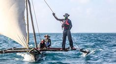 Kraken Cup: The most extreme sailing race you've never heard of - Yachting World Dugout Canoe, Put Things Into Perspective, Clear Blue Sky, Dinghy, Kraken, Tropical Paradise, Fishing Boats, The Locals, Sailing
