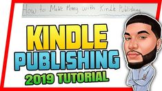 ✅ How to Make MONEY Online with KINDLE PUBLISHING on AMAZON in 2019 l SE... Make Money Online, How To Make Money, Self Publishing, Kindle, Teaching, Education, Amazon, Youtube, Books