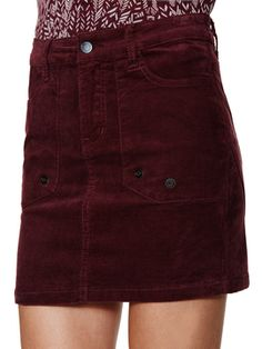 dcb477ab7fb Jervon Cotton Velours Mini Skirt by ZADIG   VOLTAIRE at Gilt