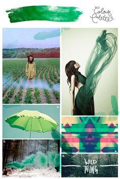 Para gustos, colores: Verde pino
