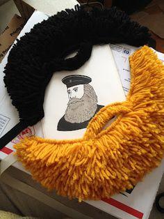 Beard... Costume, dress ups great idea :)