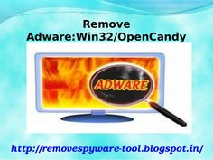 If your system gets infected with Adware:Win32/OpenCandy and you are unable to get rid from it permanently then make use of Adware:Win32/OpenCandy Removal Tool which will solve your troubles completely and protects your system from dangerous situation. So download the software now.