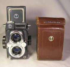 Yashica 44 LM TLR 127 Film Camera Copal SV Yashinon f/3.5 60mm Medium Format  #Yashica