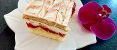 Pyszne delikatne ciasto z truskawkami Diy Food, No Bake Cake, Waffles, Cheesecake, Food And Drink, Baking, Breakfast, Ethnic Recipes, Polish