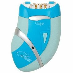 Quality Soft Caress Epilator Corded By Emjoi by At Emjoi. $49.00. The Emjoi Soft Caress is Emjoi newest and most innovative epilator to hit the market. The Emjoi Soft Caress features 36 patented 24-karat gold-plated hypoallergenic tweezer discs that remove hair quickly and efficiently. Emjoi Pain Reduction technology, coupled with a massaging finger attachment ( included), greatly reduces discomfort. The new ergonomically designed soft grip feature commands contr...