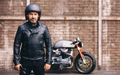 Honda CX500 Cafe Racer by Sacha Lakic #menstyle #menswear #moda #hombres | caferacerpasion.com