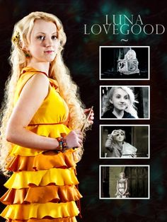 Luna Lovegood ~ Harry Potter and the Deathly Hallows