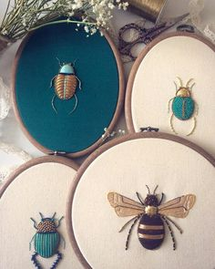 Stitch, Please! 9 Embroiderers Serving Up Instagram Eye Candy   Apartment Therapy