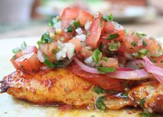 Pesto Stuffed Chicken Breast with Bruschetta Sauce – Foodie Recipe - American Diabetes Association