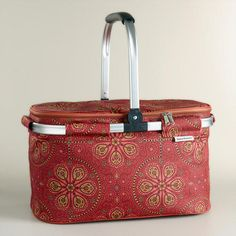 Nomad Tiles Insulated Collapsible Tote | World Market