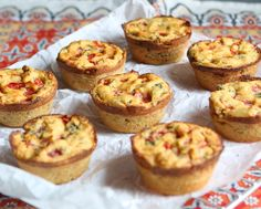 Chickpea Flour Quiches {vegan, grain-free, gluten-free} | power hungry