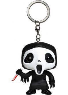 Scream Ghostface Pocket Pop! Vinyl Keychain