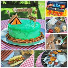 Backyard Campout Party   19 Perfect Party Plans