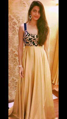 Gowns by tiarabyroshinishah