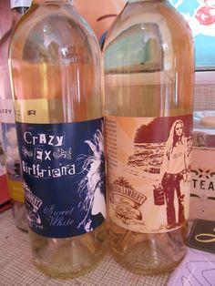 """Miranda Lambert's new wine- """"crazy ex-girlfriend"""" and Kerosene, awesome! I've got one!"""