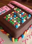 candy crush game cake - you another way to FEED your addiction!!!  :)