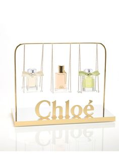Parfum: My Little Chloé Cosmetics Display Stand, Cosmetic Display, Cosmetic Design, Pos Design, Retail Design, Pos Display, Display Design, Brand Packaging, Packaging Design