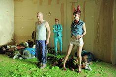 Peer Gynt costume and set design by Katja Ebbel Frederiksen
