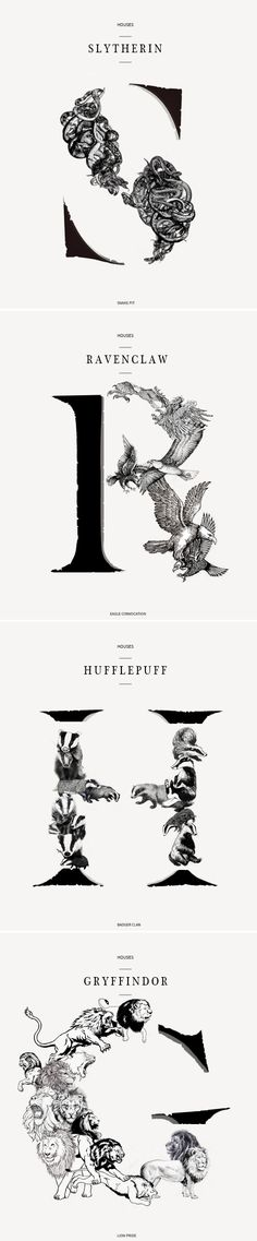Houses of Hogwarts #hp
