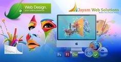 Jayam Web solutions is a leading web design company in Chennai  offering web design and web development services for companies all over India and Abroad.
