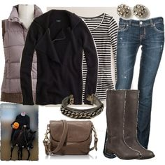 Cute and cozy fall outfit