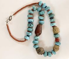 One of a Kind Tribal Inspired Necklace cute necklace for her